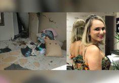 Rosimar foi vítima da explosão (FOTO: Reprodução)