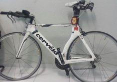A bicicleta foi encontrada na comunidade Lagamar (FOTO: Divulgação/SSPDS)