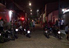 O sobrinho foi morto no Conjunto Ceará (FOTO: Reprodução/TV Jangadeiro)