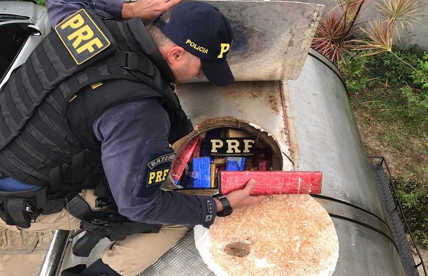 Polícia apreende 4 toneladas de maconha em carroceria de caminhão no Ceará