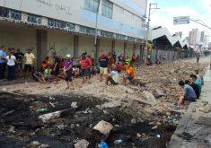 A Prefeitura já deu início as obras da Nova José Avelino (FOTO: Adriano Paiva/Tribuna do Ceará)