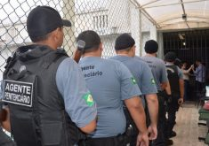 Candidato pleiteava vaga de agente penitenciário. (Foto: Sejus/Divulgação)