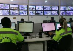As câmeras monitoram 24 horas (FOTO: Divulgação/Prefeitura de Fortaleza)