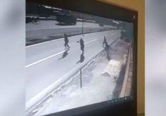 A sequência de assaltos aconteceu na BR-116 (FOTO: Reprodução)