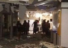 Bando ataca agência no interior do Ceará (Foto: Whatsapp/Tribuna do Ceará)