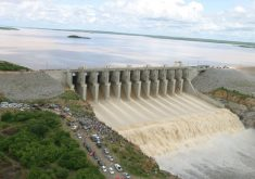 Castanhão encheu pela primeira vez em 2004. (Foto: Dnocs)