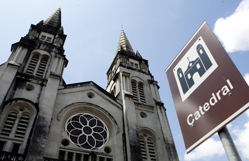 Catedral de Fortaleza é alvo de segundo furto em menos de 24 horas