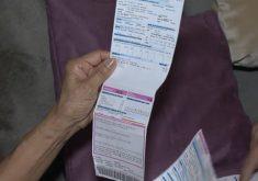 A concessionária emitiu duas faturas com vencimento no mesmo mês para alguns consumidores (FOTO: Reprodução/TV Jangadeiro)