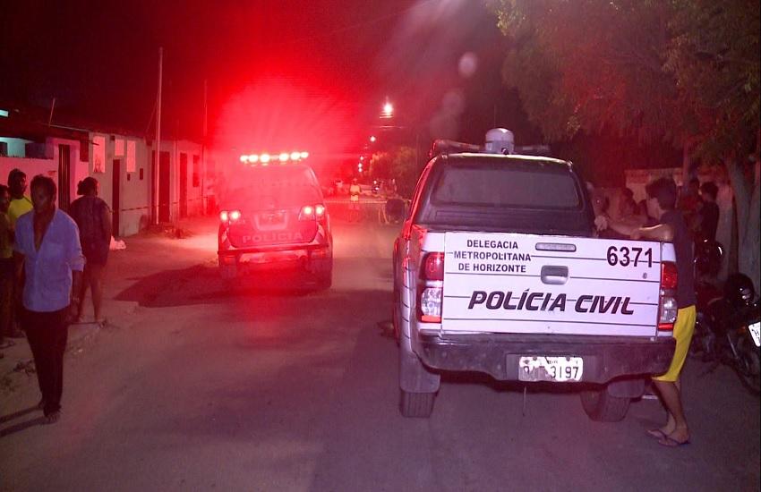 Onda de execuções é registrada na Região Metropolitana de Fortaleza na noite desta terça