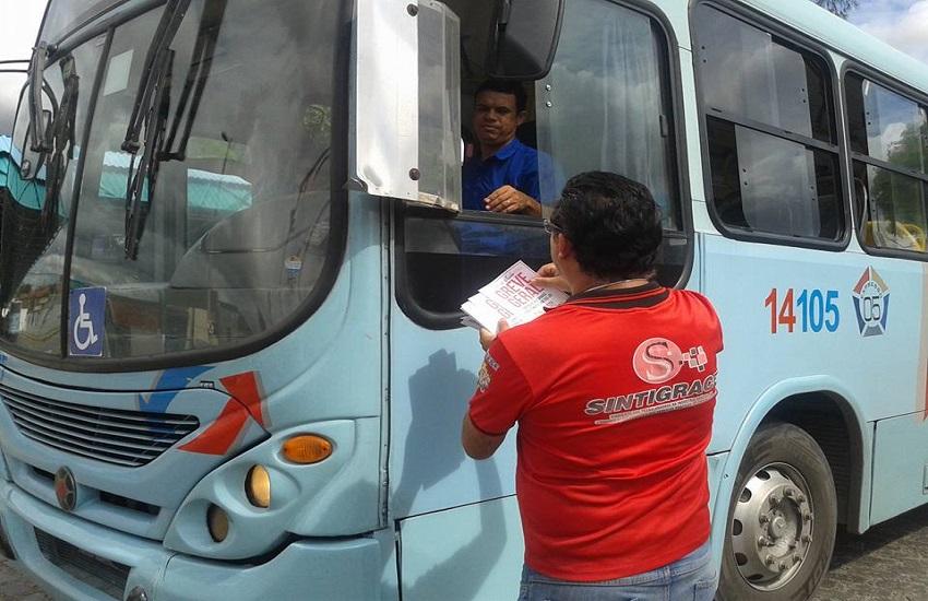 Motoristas e cobradores de ônibus vão aderir à greve geral desta sexta