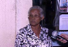 A idosa precisa de atendimento (FOTO: Reprodução/TV Jangadeiro)
