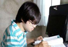 O jovem foi aprovado no curso de Direito (FOTO: Arquivo pessoal)
