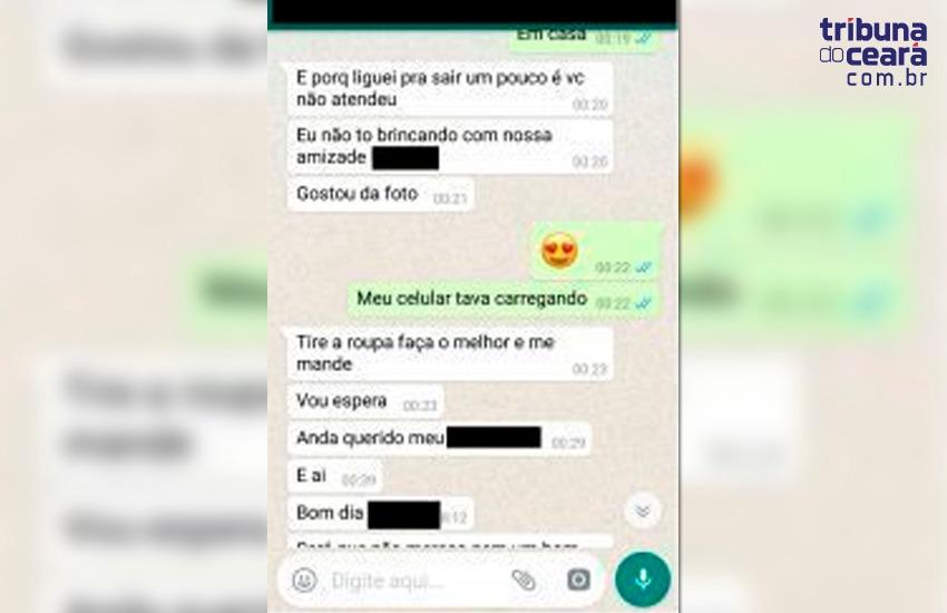 Padre é afastado por enviar fotos íntimas a jovem por WhatsApp em Fortaleza