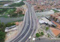 O novo viaduto proporciona velocidade aos ônibus (FOTO: Divulgação)