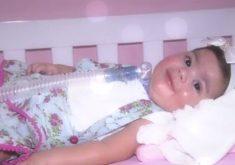 Lara tinha dez meses, e estava internada havia seis (FOTO: Reprodução TV Jangadeiro)