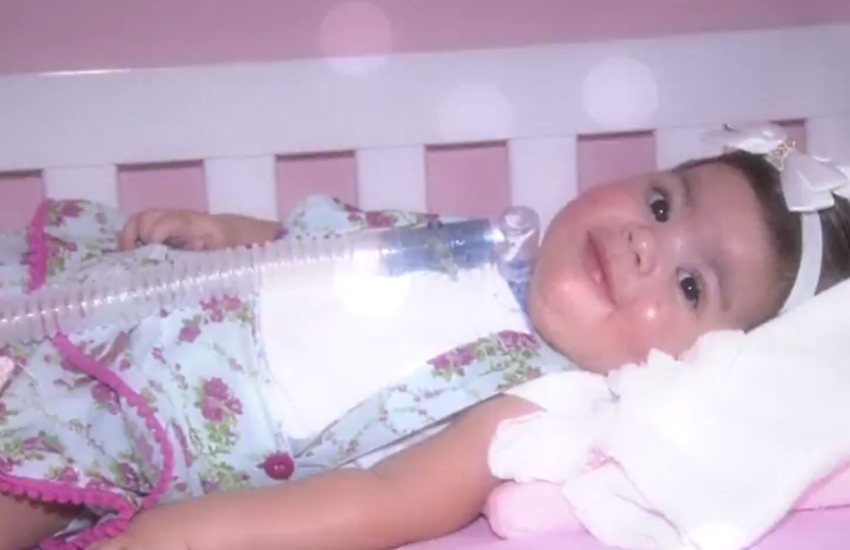 Morre a bebê que precisava de R$ 3 milhões para vencer doença rara