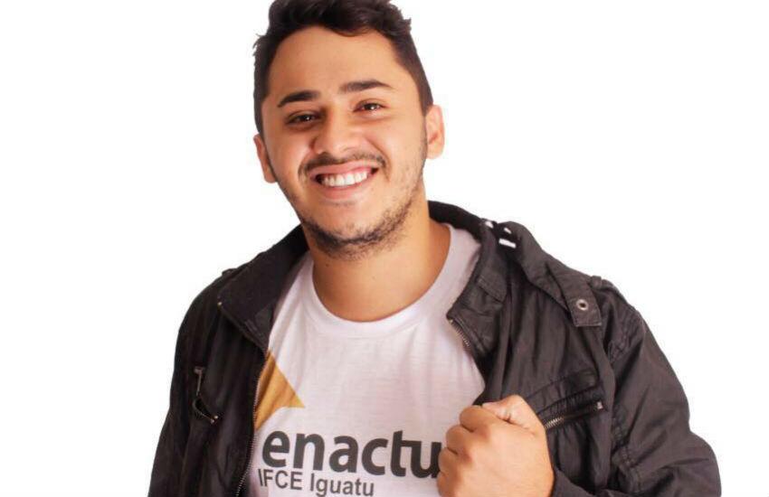 Líder estudantil de Iguatu concorre a prêmio nacional, por projetos que beneficiam 3 mil pessoas
