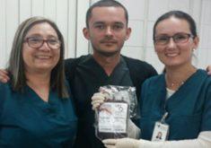 Cearense de 23 anos tem o mesmo tipo sanguíneo da menina que precisava da doação (FOTO: Divulgação/Hemoce)
