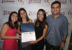 Roberta Tavares, Jéssica Welma, Rafael Luis Azevedo e Rosana Tavares, equipe do Tribuna do Ceará. (Foto: Tribuna do Ceará)