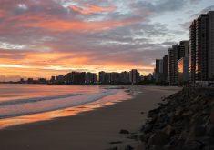 Fortaleza registrou uma temperatura de 21,9ºC às 7h de terça-feira, mostrou o Tribuna do Ceará (Foto: Reprodução)