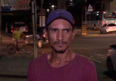 O homem tem 35 anos, mas aparência é de muito mais velho (FOTO: Reprodução/TV Jangadeiro)