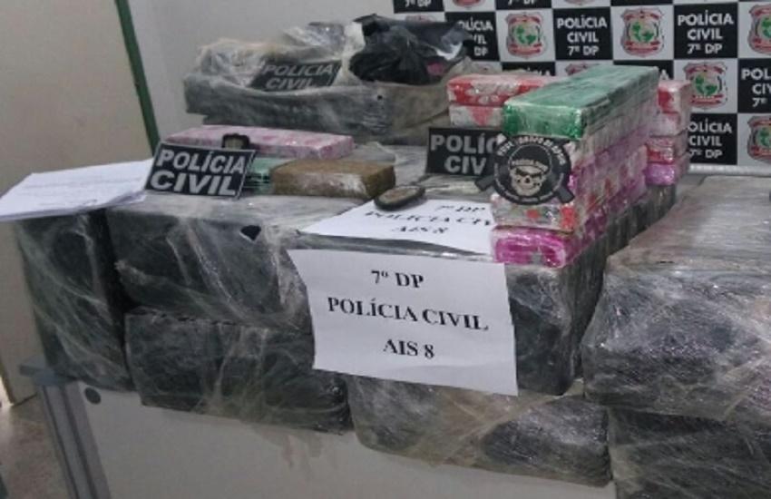Casal é preso com 370 kg de maconha em sorveteria onde droga era vendida