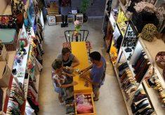 Reportagem mostra novo comércio da moda em Fortaleza. (Foto: Rosana Romão/Tribuna do Ceará, em novembro de 2016)