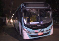 A linha assaltada foi o Antonio Bezerra/Lagoa/Unifor (FOTO: Reprodução/TV Jangadeiro)