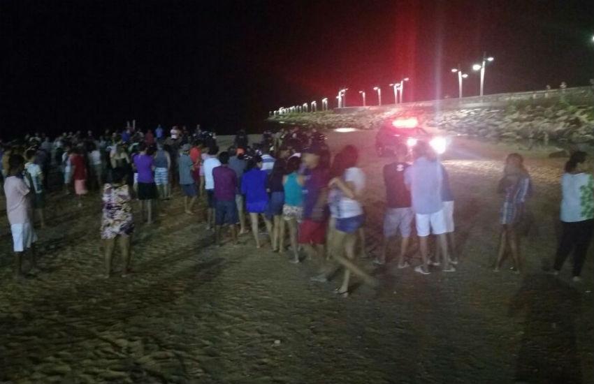 """Homem é assassinado e outra pessoa é baleada na """"Praia dos Crush"""""""