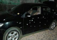 O tiroteio deixou 4 mortos (FOTO: Enviado por leitor via Whatsapp)