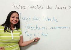 Alinne venceu o concurso do instituto alemão (FOTO: Originale Fotografia)
