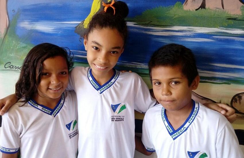 Estudantes de São Gonçalo estão entre os vencedores de concurso de mascotes