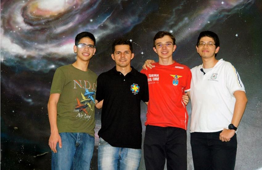 Cearenses serão 3 dos 5 brasileiros na Olimpíada Internacional de Astronomia