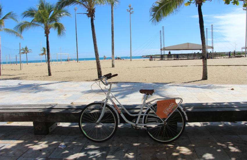Hotel da Praia de Iracema é 1º de Fortaleza com suas próprias bicicletas compartilhadas