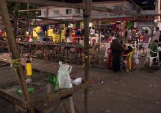 O jovem de 18 anos morreu na praça (FOTO: Reprodução/TV Jangadeiro)O jovem de 18 anos morreu na praça (FOTO: Reprodução/TV Jangadeiro)