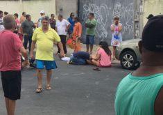 O crime aconteceu no Bairro Maraponga (FOTO: Reprodução/TV Jangadeiro)