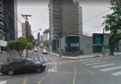 Acidente aconteceu no cruzamento da avenida Rui Barbosa com rua Tenente Benévolo. (Foto: Reprodução/Google Maps)