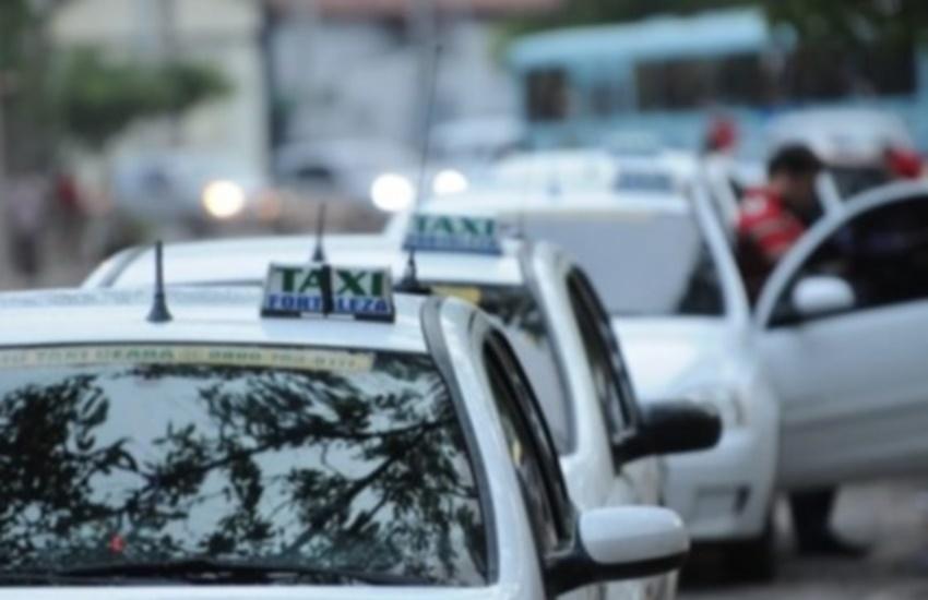 Taxistas mudam discurso e agora querem a liberação do Uber em Fortaleza