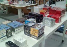 Produtos importados, como perfumes, estarão disponíveis (FOTO: Divulgação)Produtos importados, como perfumes, estarão disponíveis (FOTO: Divulgação)
