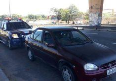 O veículo tem 121 multas (FOTO: Divulgação/PRF)