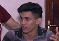 Antonio Anderson recebeu liberdade na quinta-feira (FOTO: Reprodução/TV Jangadeiro)