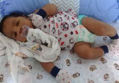 Medicação errada dada na UPA do José Walter ameaça vida de bebê. (Foto: Arquivo pessoal)