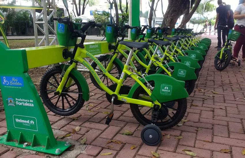 Avenida Beira Mar ganha estação do Mini Bicicletar nesta sexta-feira