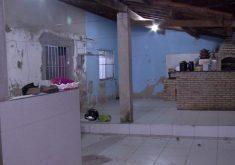 A casa foi invadida no domingo pela manhã (FOTO: Reprodução/TV Jangadeiro)