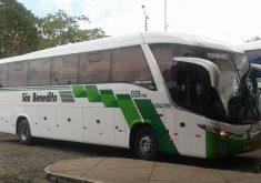 A empresa São Benedito é uma das que faz as viagens (FOTO: Divulgação)