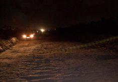 O caso aconteceu no Anel Viário no meio da escuridão (FOTO: Reprodução/TV Jangadeiro)