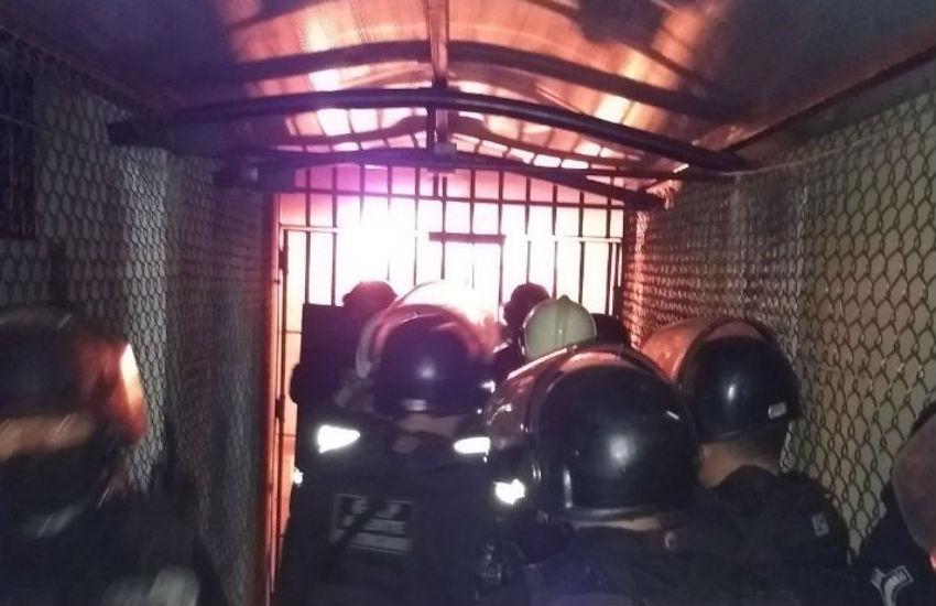 Detentos fazem rebelião em presídio de Itaitinga e vídeos são divulgadas em redes sociais