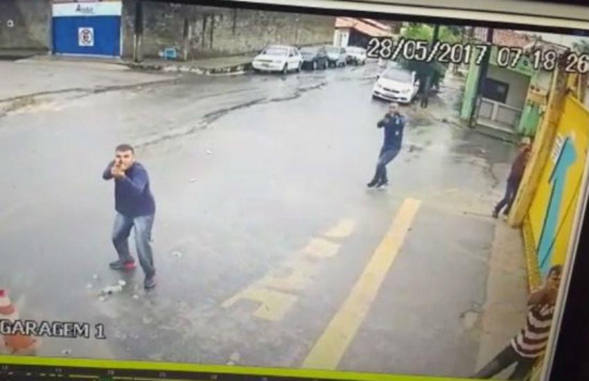 Suspeito é preso por participar de assassinato de PM durante assalto à garagem de ônibus