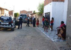 Crime ocorreu neste domingo (FOTO: Dorian Girão/TV Jangadeiro)