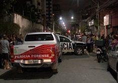 O crime aconteceu no Meireles (FOTO: Reprodução/TV Jangadeiro)